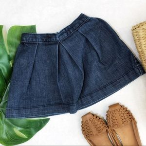 Gap Girls Denim Pleated Skirt Size 2T